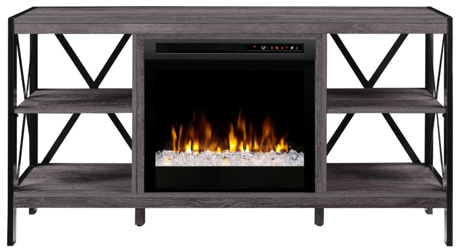 65 dimplex ramona media console electric fireplace with - Going to bed with embers in fireplace ...