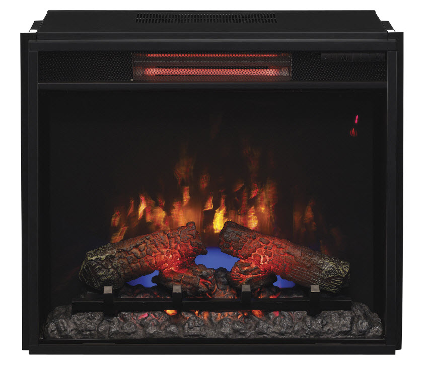 23 Inch Classic Flame Infrared Spectrafire Electric Fireplace Insert