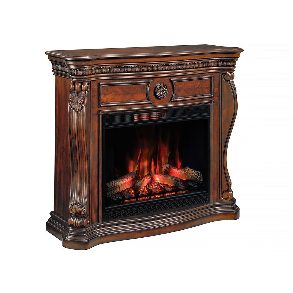55u0027u0027 Lexington Empire Cherry Infrared Electric Fireplace