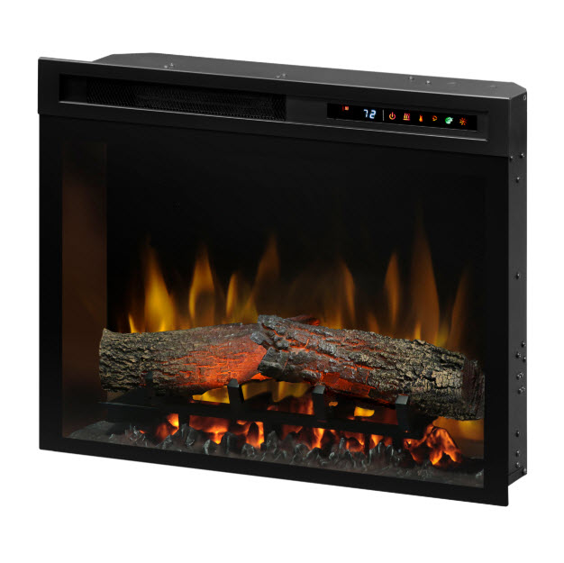 "Plug In Electric Fireplace Inserts: 23"" Dimplex Multi-Fire XHD Plug-In Infrared Electric"