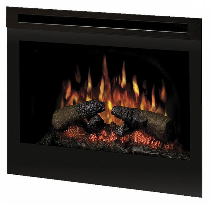 26 Quot Dimplex Self Trimming Electric Fireplace Insert