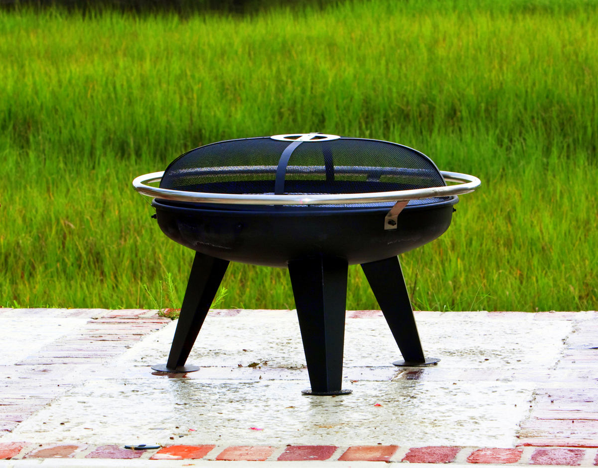Portable Fireplaces 25 39 39 Colony Steel Outdoor Fire Pit