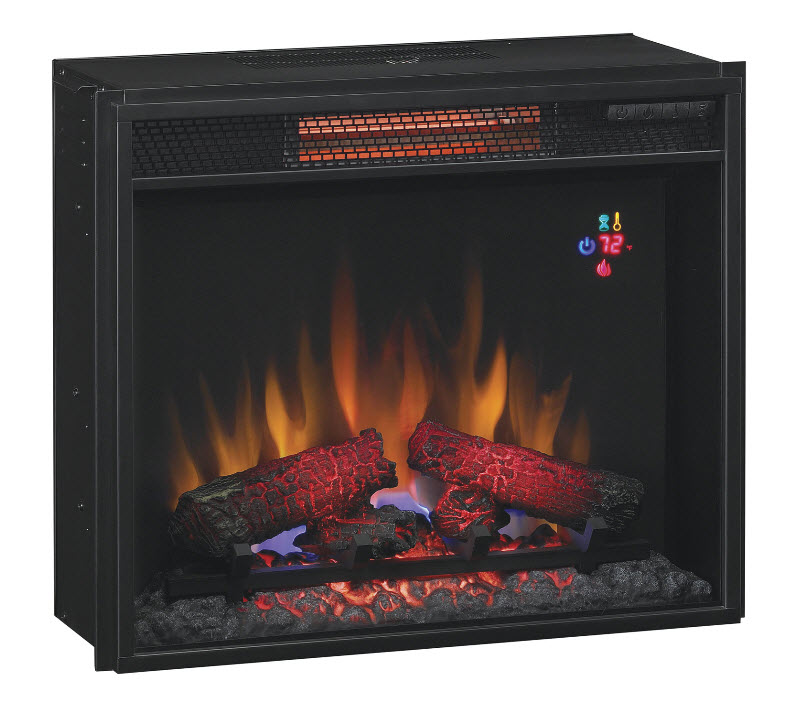 Plug In Electric Fireplace Inserts: 23'' Classic Flame Infrared Spectrafire+ Electric