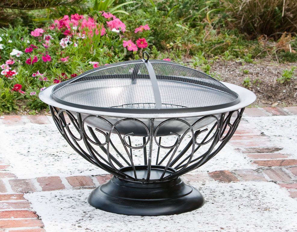 30 Stainless Steel Urn Fire Pit