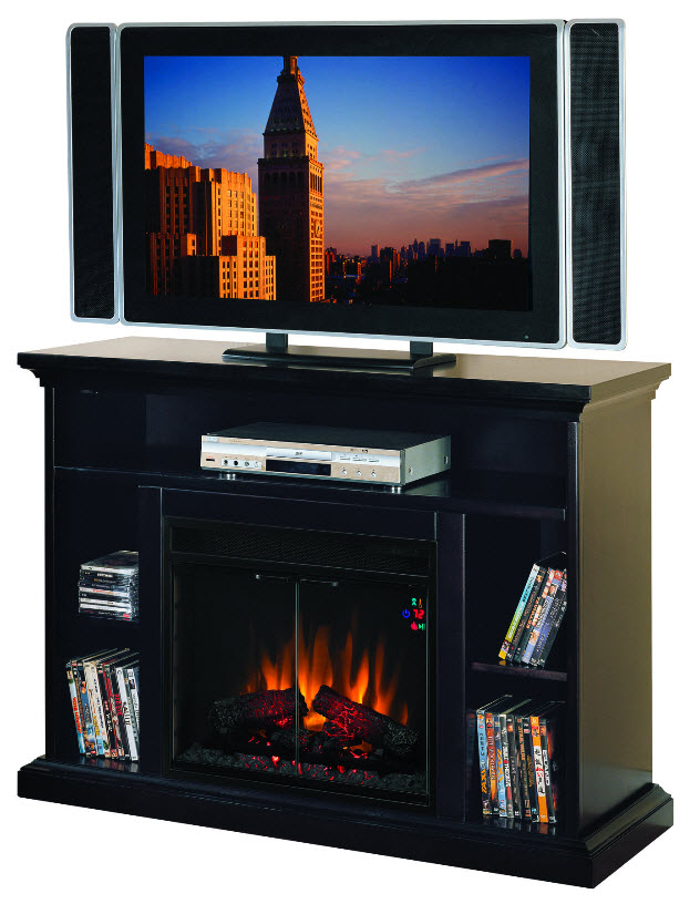 48'' Beverly Entertainment Center Electric Fireplace