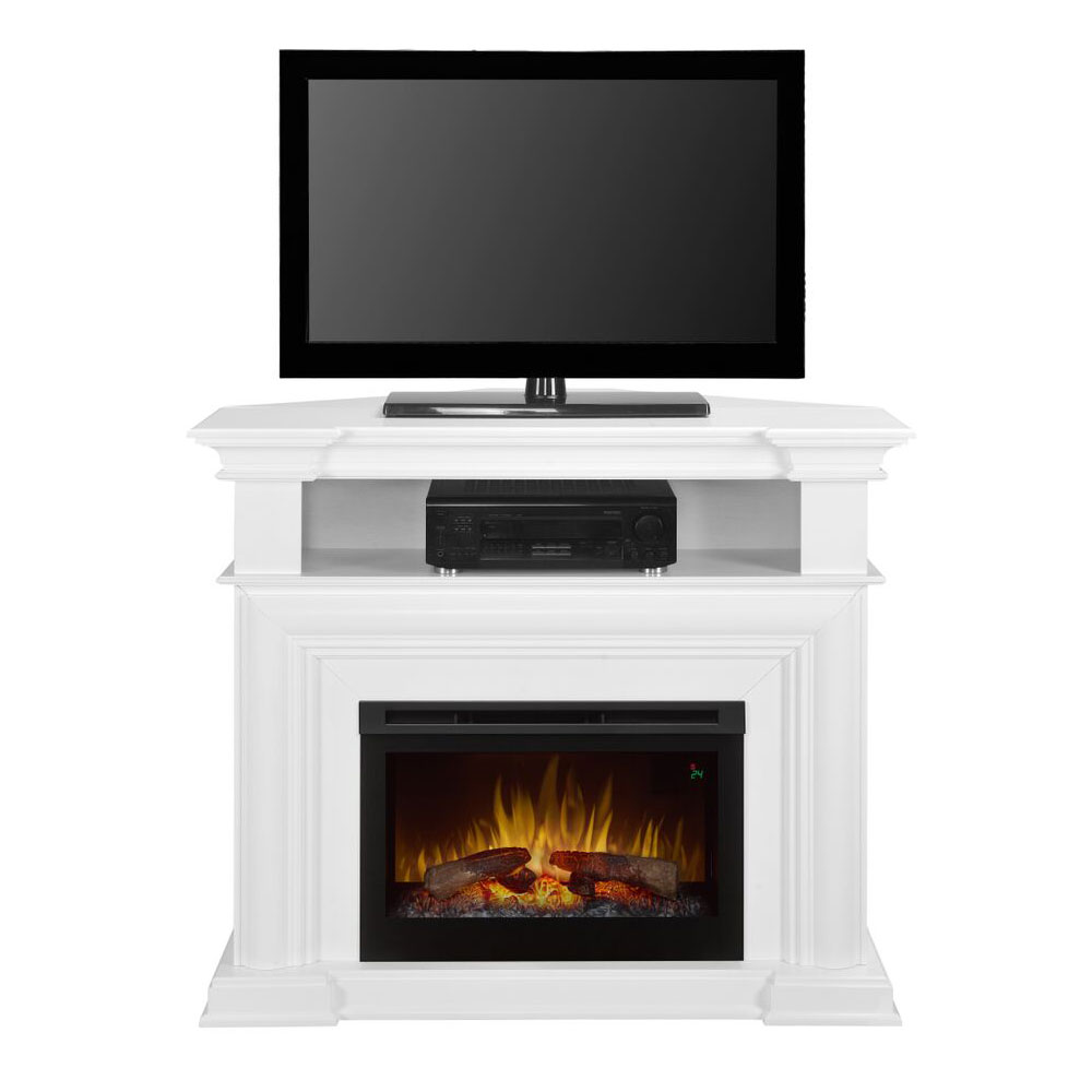 colleen wall or corner electric fireplace media