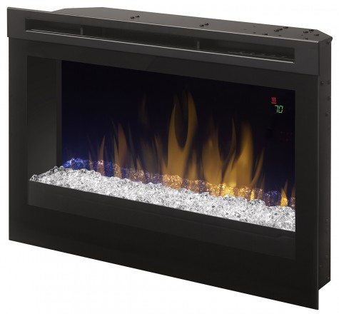 25 Quot Dimplex Acrylic Ice Contemporary Electric Fireplace