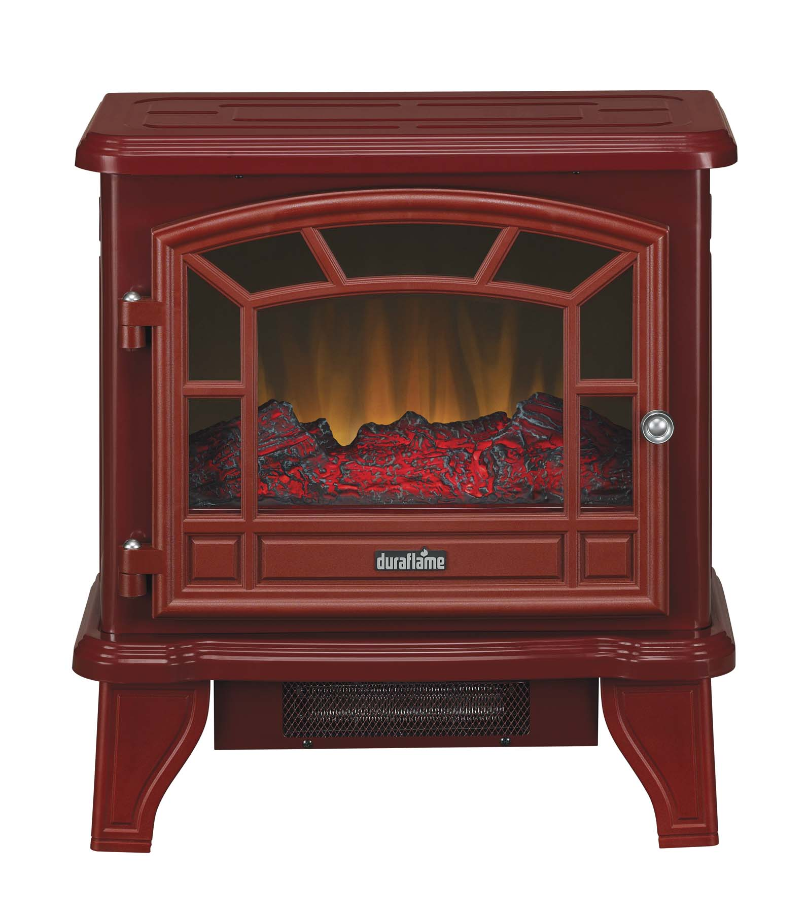 New classic flame electric fireplace inserts make an existing chimney - 20 Duraflame Red Stove Electric Fireplace