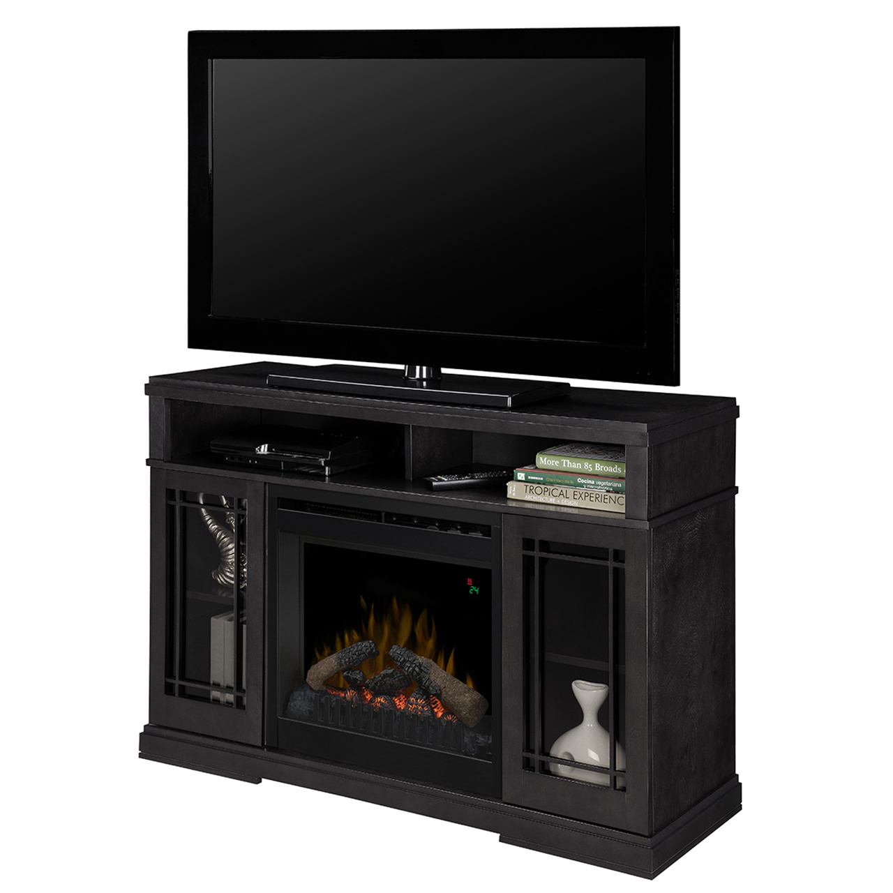 Farley Raven Entertainment Center Electric Fireplace Dfp20l 1424ra