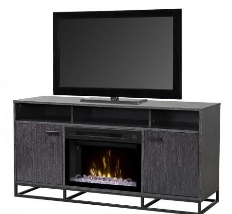 64 Reily Media Console Fireplace 25 Glass Ember Bed Firebox Gds25gd 1660gc