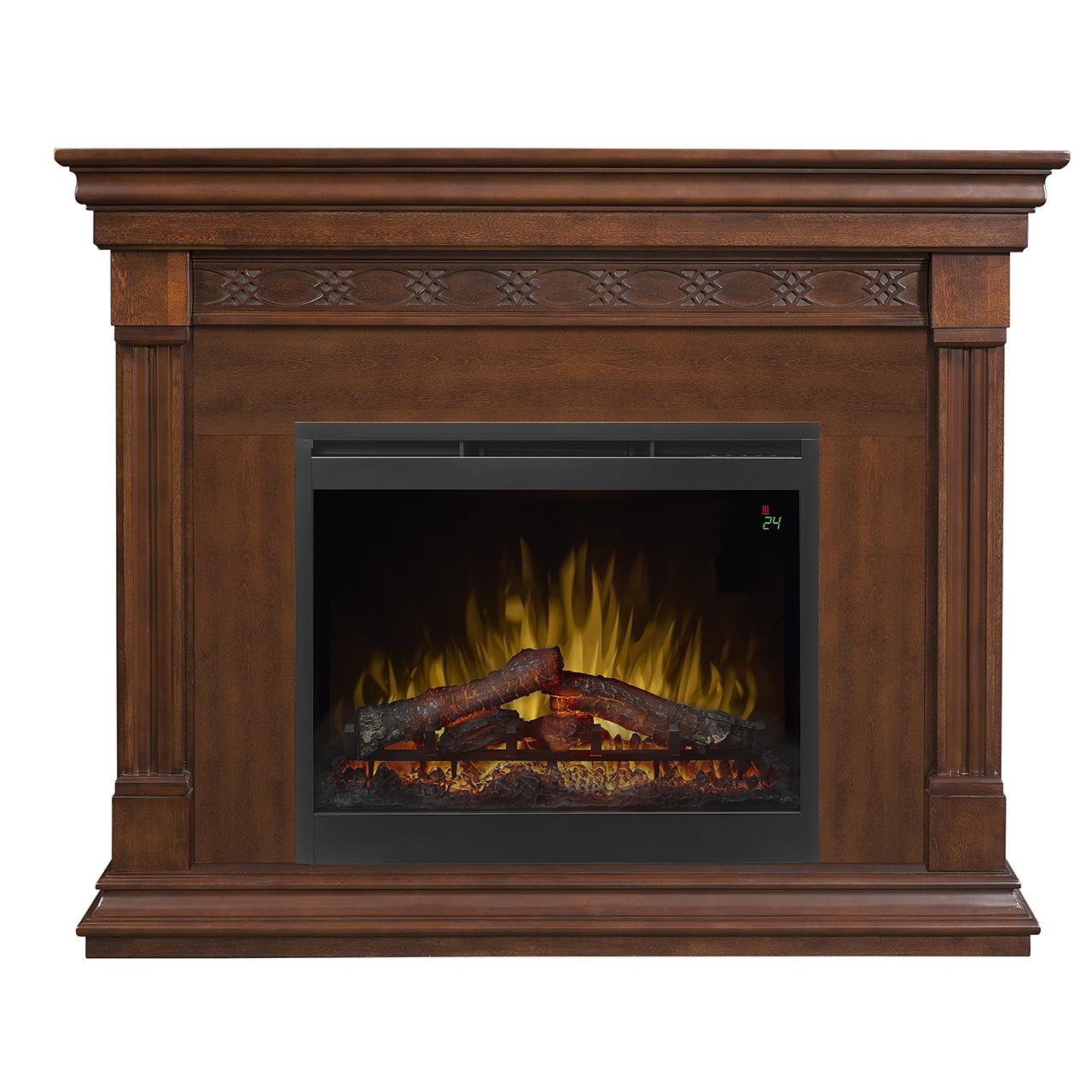 51 Quot Dimplex Alcott Mantel Electric Fireplace