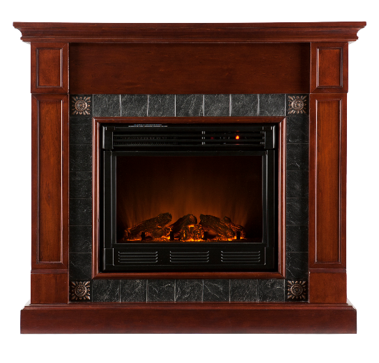 45'' Holly & Martin Tavola Electric Fireplace-Cherry