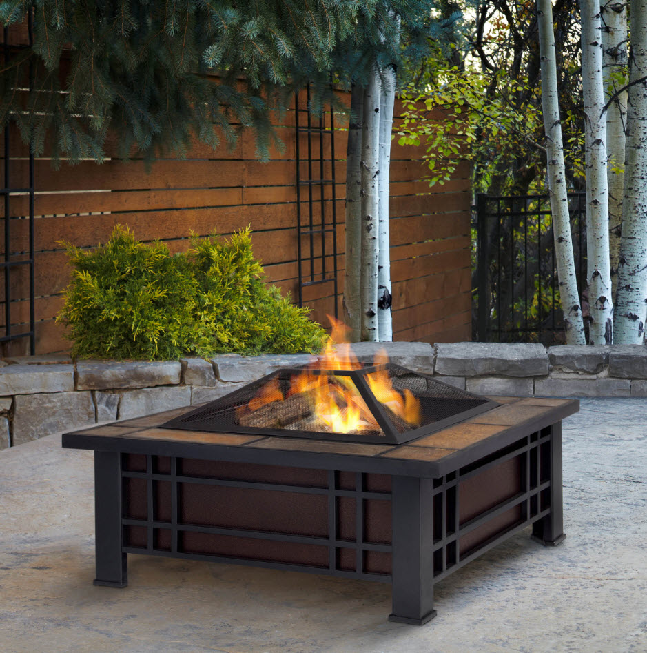 Superb PortableFireplace.com Intended Portable Outdoor Fireplace