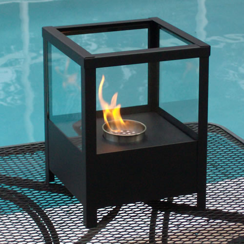 9 5 Sparo Indoor Outdoor Table Top Ethanol Fireplace NF