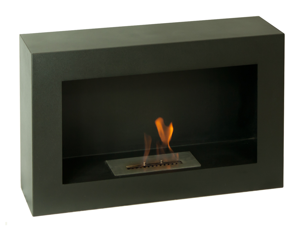 31 4 Quot Ignis Spectrum Freestanding Ventless Ethanol Fireplace