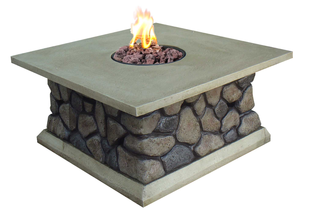 34 5 Tuscan Ridge Outdoor Gas Fire Table
