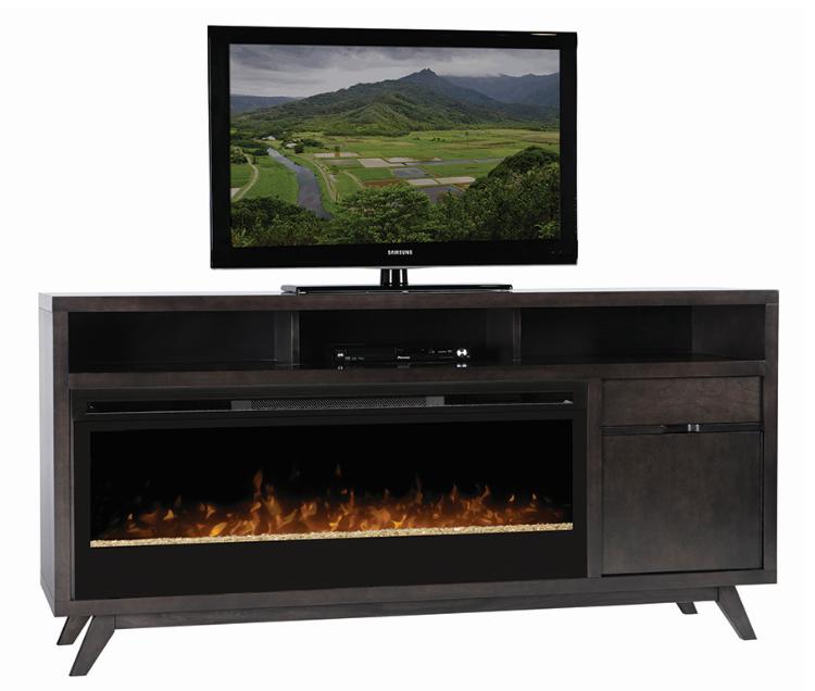 Dimplex Desmond Maple Media Console Fireplace Gds