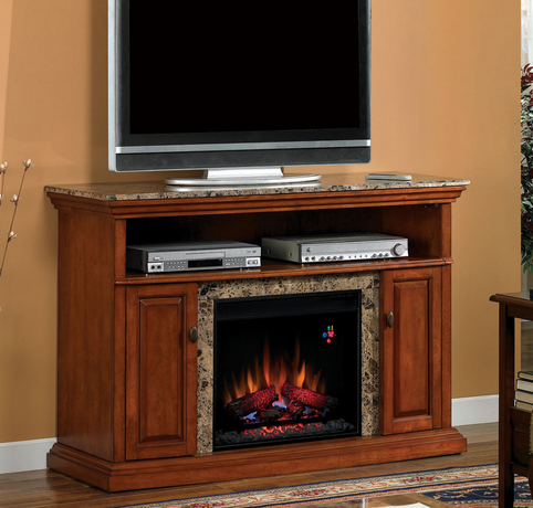 Electric Fireplace Media Cabinet