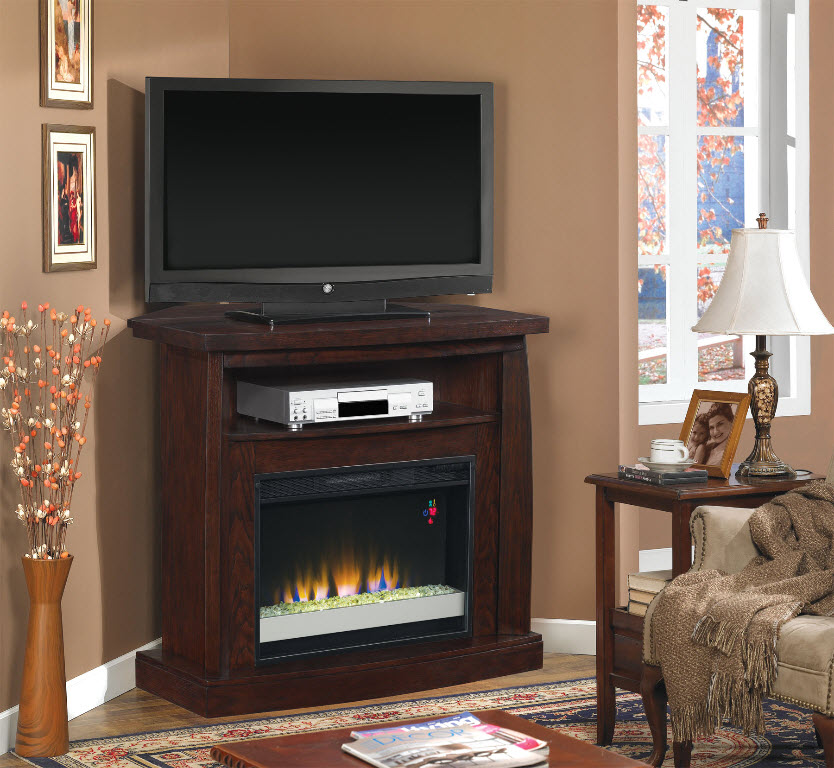 42 boomerang dual entertainment engineered emossed for Engineered fireplace