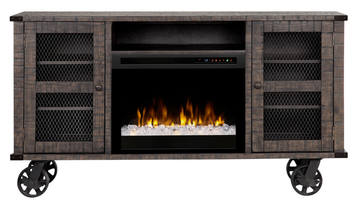 66 dimplex duncan media console electric fireplace with - Going to bed with embers in fireplace ...
