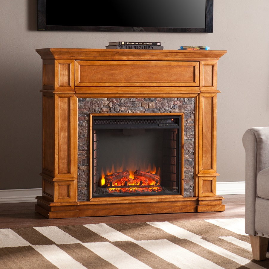 57.5 St. Andrews Electric Fireplace