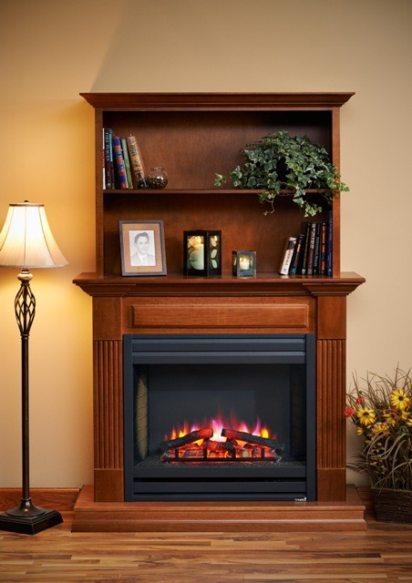 "51""/58"" Rio Grande Louvre Front Electric Fireplace"