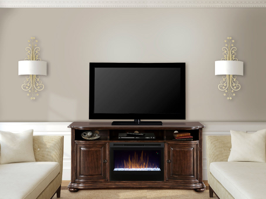 66 dimplex henderson media console electric fireplace - Going to bed with embers in fireplace ...