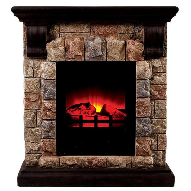 2725 Vesti Faux Stone Electric Fireplace