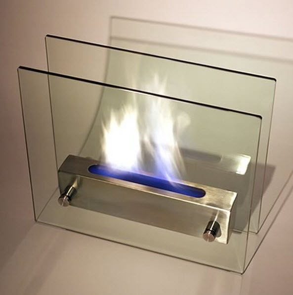 Irradia Tabletop Modern Bio-Fireplace