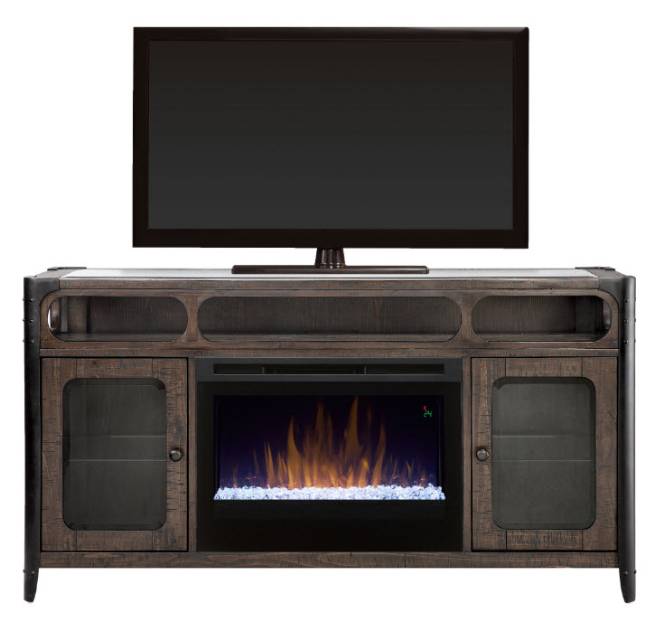 60 dimplex paige media console electric fireplace with - Going to bed with embers in fireplace ...