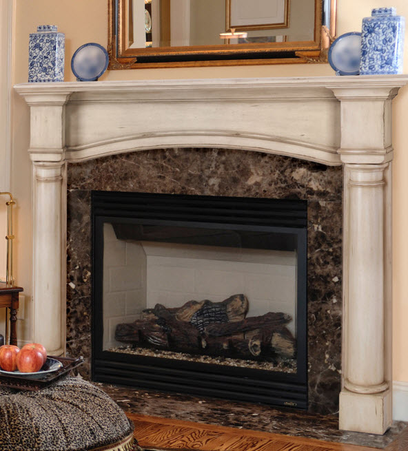 "48""/56"" The Princeton Fireplace Mantel"
