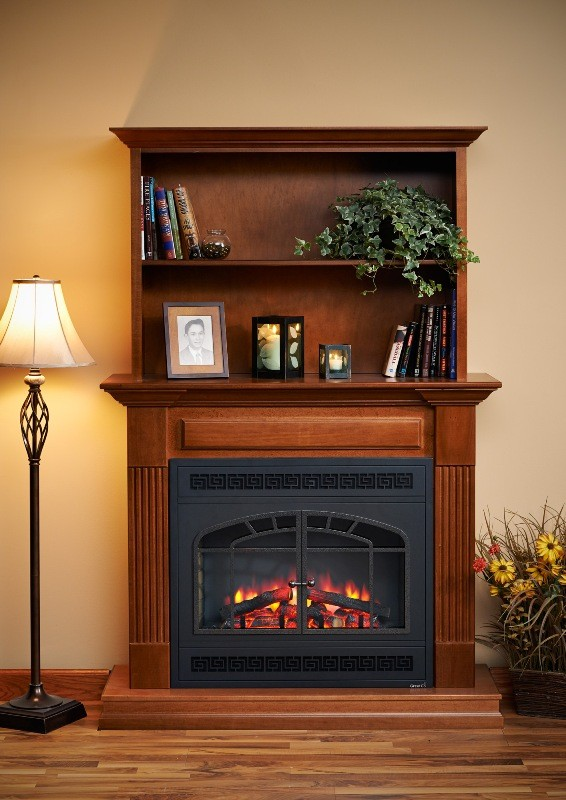 51 Quot 58 Quot Rio Grande Arch Rectangular Front Electric Fireplace