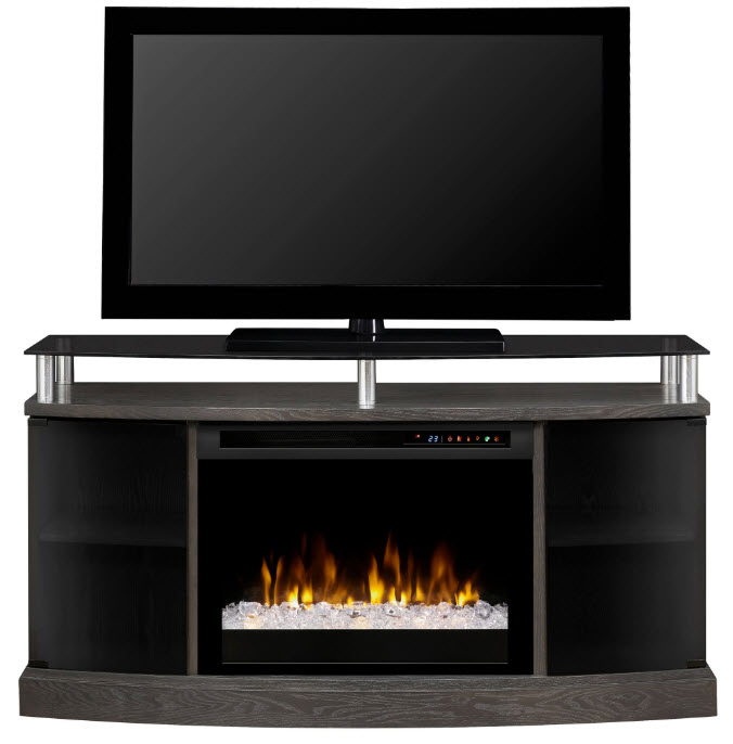 53 dimplex windham media console electric fireplace with - Going to bed with embers in fireplace ...