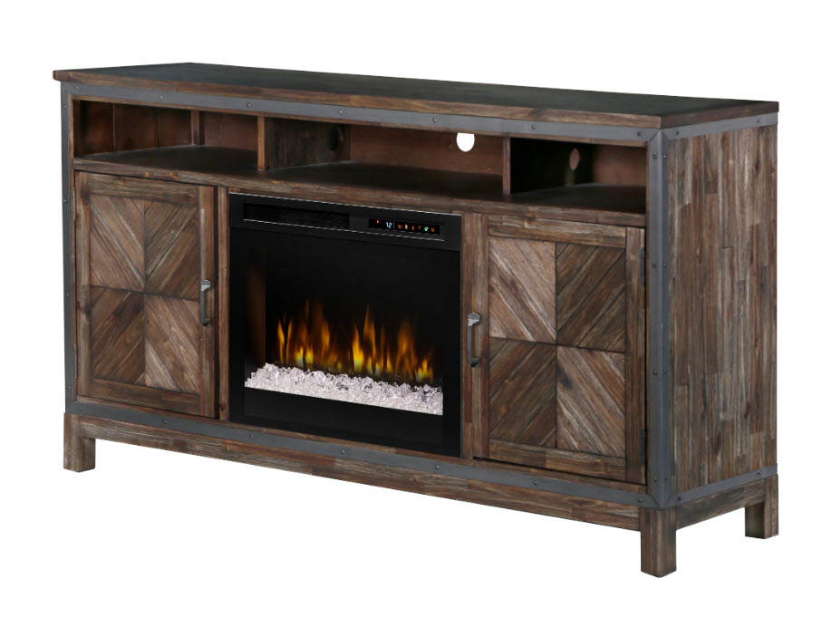 64 dimplex wyatt media console electric fireplace with - Going to bed with embers in fireplace ...