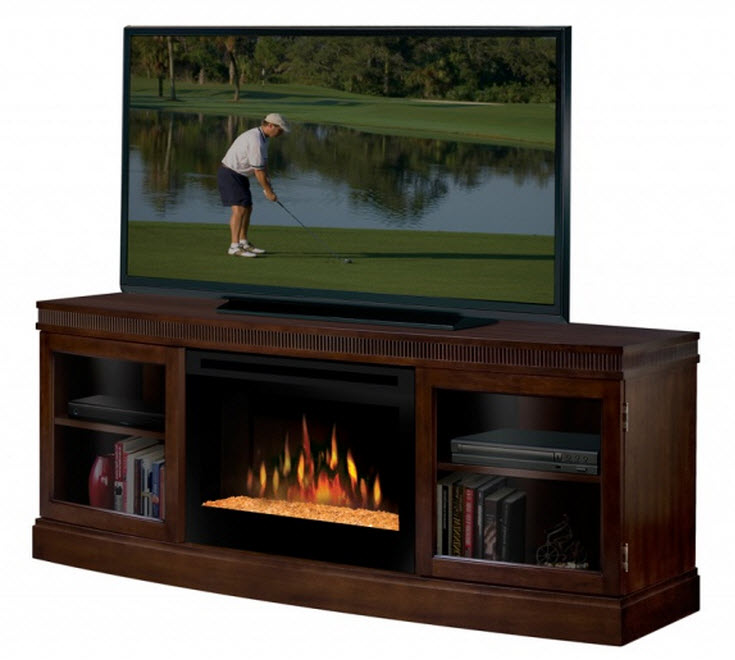Meuble Tele Avec Foyer : Portable Fireplaces Dimplex Fireplaces 664 Dimplex Wickford