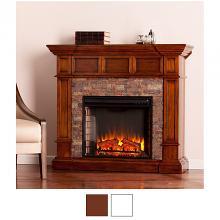 Corner Electric Fireplace Heaters Portablefireplace Com