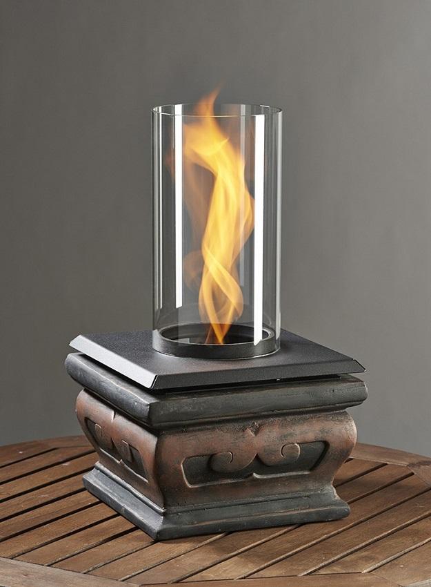 Serenity Indoor Outdoor Table Top Fire Pit - Venturi Flame