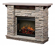 "61"" Dimplex Featherstone Electric Fireplace"