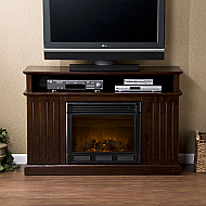 "48"" Holly & Martin Fenton Media Electric Fireplace-Espresso"