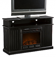 "48"" Holly & Martin Fenton Media Electric Fireplace-Black"