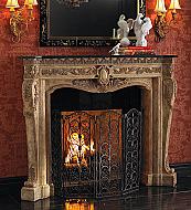 Fireplace Mantels Surrounds Amp Shelves Portablefireplace Com
