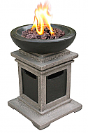 15'' Ravenswood Tabletop Outdoor Gas Firebowl