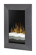 "24"" Dimplex Bevelled Gunmetal Electric Wall Fireplace"