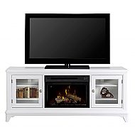 "70"" Dimplex Winterstein White Media Console Fireplace - GDS25L-1413WB"