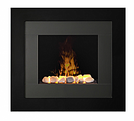 """35.5"""" Dimplex Redway OptiMyst Black Wall Mount Electric Fireplace"""
