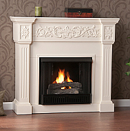 "44.5"" Holly & Martin Huntington Gel Fireplace-Ivory"
