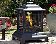 24.5'' Rectangle Pagoda Patio Fireplace