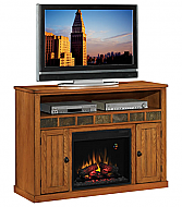 52'' Sedonia Classic Oak Entertainment Center Electric Fireplace - 23MM0925-O124