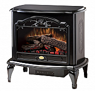 "29.6"" Dimplex Celeste Black Stove Electric Fireplace"