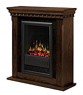 "34"" Dimplex Bravado Nutmeg Electric Fireplace"
